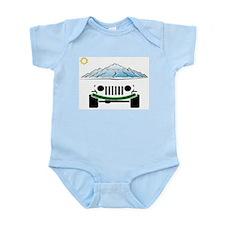 Unique Jeeping Infant Bodysuit