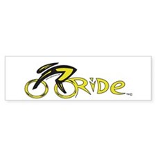 rider aware 2 Bumper Sticker