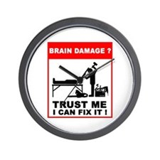 Brain damage? Trust me, I can Wall Clock