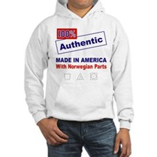Made in America with Norwegian Parts Hoodie
