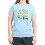 1st Day of School Personalized T-Shirt