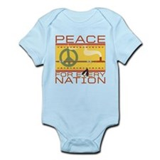 Peace for Every Nation Infant Bodysuit