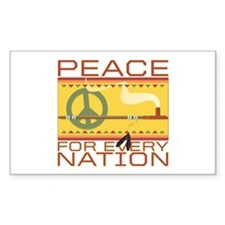 Peace for Every Nation Decal
