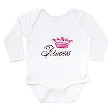 Royal Princess Long Sleeve Infant Bodysuit