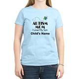 Personalized Autism Mom T-Shirt