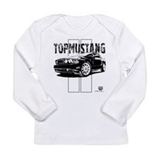 TopMustang BWB Long Sleeve Infant T-Shirt