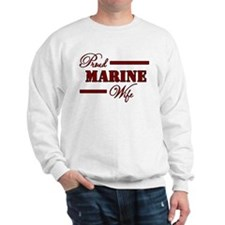 Proud Marine Wife Sweatshirt
