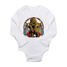Bear Dream Catcher Long Sleeve Infant Bodysuit