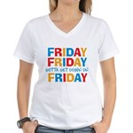 Friday Friday Women's V-Neck T-Shirt