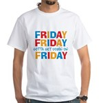 Friday Friday White T-Shirt