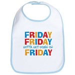 Friday Friday Bib