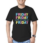 Friday Friday Men's Fitted T-Shirt (dark)