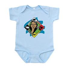 Native American Medicine Wheel Infant Bodysuit