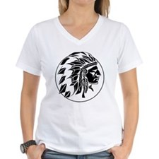 Indian Chief Head Shirt