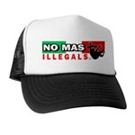 No Mas Illegals Trucker Hat