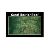 Great Barrier Reef Rectangle Magnet (10 pack)