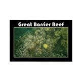 Great Barrier Reef Rectangle Magnet (100 pack)