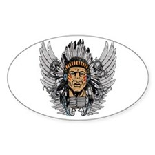 Indian Chief Wings Decal