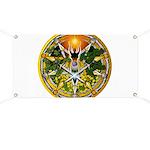 Litha/Summer Solstice Pentacl Banner