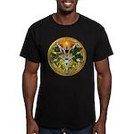 Litha/Summer Solstice Pentacl Men's Fitted T-Shirt