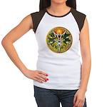Litha/Summer Solstice Pentacl Women's Cap Sleeve T