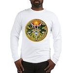 Litha/Summer Solstice Pentacl Long Sleeve T-Shirt