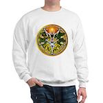Litha/Summer Solstice Pentacl Sweatshirt