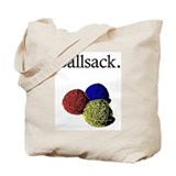 Cute Knitting Tote Bag
