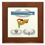 CIB Pathfinder Airborne Air Assault Framed Tile