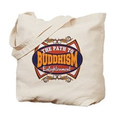 Buddhism Path to Enlightenment Tote Bag