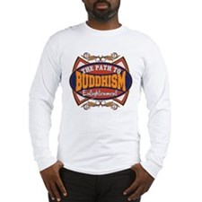Buddhism Path to Enlightenment Long Sleeve T-Shirt