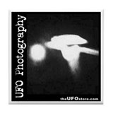UFO Photography 3 Tile Coaster