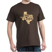 Made in Texas Brown T-Shirt