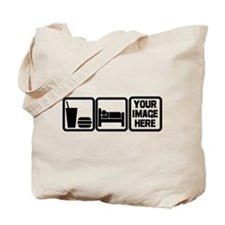 EAT-SLEEP- Tote Bag