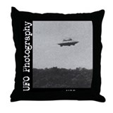 Funny Ufo Throw Pillow