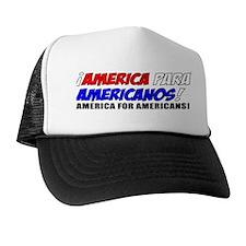 America For Americans! Trucker Hat