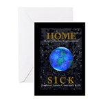 Home Sick Earth Greeting Cards (Pk of 10)