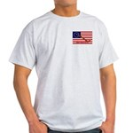 Flag T-Shirt (Ash Grey)