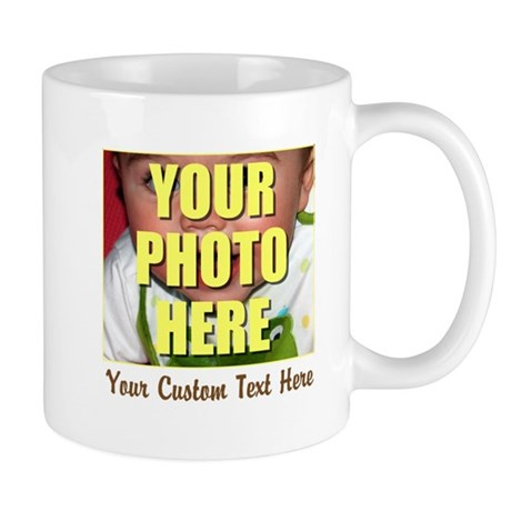 Custom Photo and Text Mug