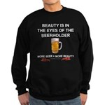Behold the beer Sweatshirt (dark)
