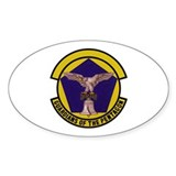 1101st Security Police Oval Decal