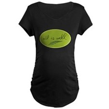 All is Well Leaf - Green T-Shirt