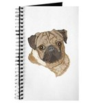 Pug Portrait Journal