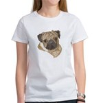 Pug Portrait Women's T-Shirt