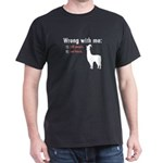 Wrong with Me Dark T-Shirt