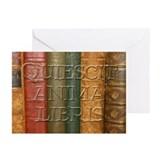 """Quiescit Anima Libris"" Greeting Cards (Pk of 10)"