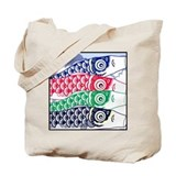 Koi Waves Tote Bag