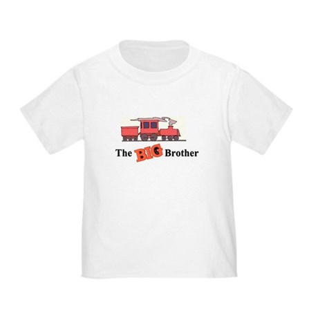 Big Brother - Trains Toddler T-Shirt