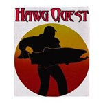 Hawg Quest Throw Blanket