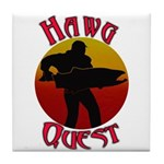 Hawg Quest Tile Coaster